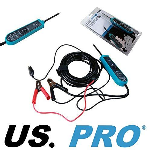 US PRO 6789 Spannungsprüfer, Lanzensonde, 6-24 Volt, digitales Testgerät