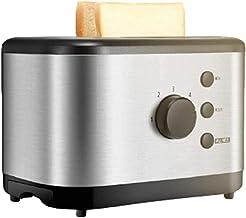 ELXSZJ XTZJ Toaster 2 Toasters Toasters Bagel en Acier Inoxydable Grille-Pain de manière Uniforme et Rapidement avec 2 Pla...