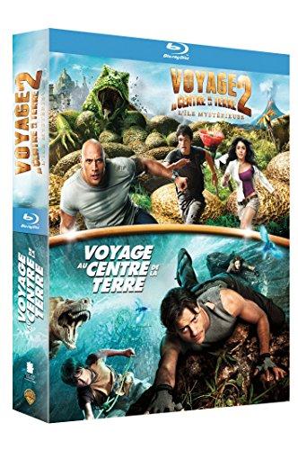 Voyage au centre de la Terre + Voyage au centre de la Terre 2 : l'île mystérieuse