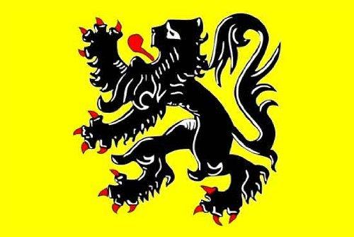 België Vlaanderen - Vlaamse Leeuw - Vlaamse Leeuw Vlag 150cm x 90cm