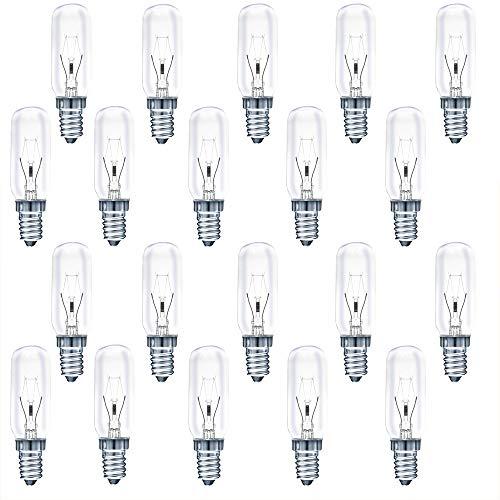20 x vuilnislicht afzuigkap lamp AGL 40W E14 380 lm warmwit 2700 K dimbaar