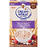 Cream of Wheat Instant Hot Cereal, Mixed Berry, 1.23 Ounce, 6 Packets (Pack of 12)