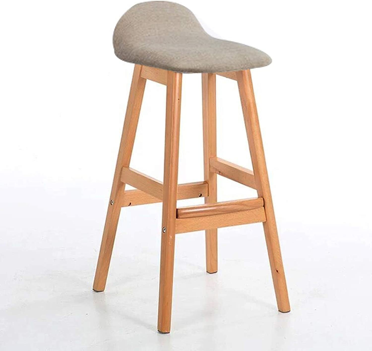 Bar Chair Modern Style Bar Stools Counter Chair Kitchen Breakfast Barstool Wooden Legs