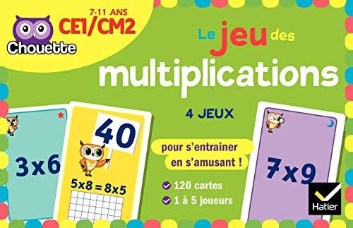 Le jeu des multiplications CE1-CM2
