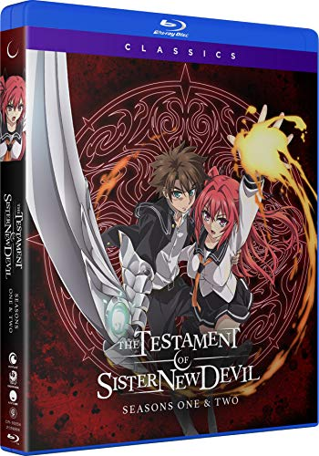 The Testament of Sister New Devil: Seasons One & Two [Blu-ray]