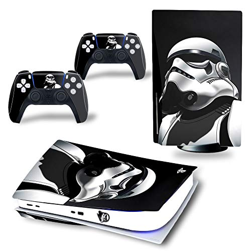 CIVIKY Stickers pour PS5, Anime Star Wars Vinyl Stickers pour Playstation 5 Console et Manettes PS5 Skin Sticker (Style 2)
