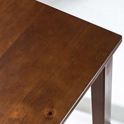 Zinus Juliet Espresso Wood Bench