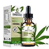 MaxHemp Organic Oil Drops - 100% Natural Extract - Relaxation Vegan Friendly