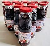Park's Pomegranate Juice, 250ml(8.45fl oz), Pack of 12, No Sugar Added, 100% Natural, Kosher