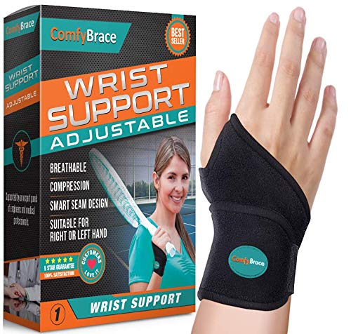 ComfyBrace Premium Copper Support Arthritis Hands Adjustable