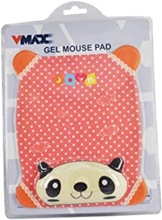 Vmax Gel Mouse Pad Made From Nylon Textile VMP-103, Red