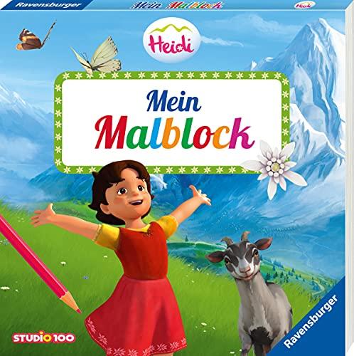 Heidi: Mein Malblock
