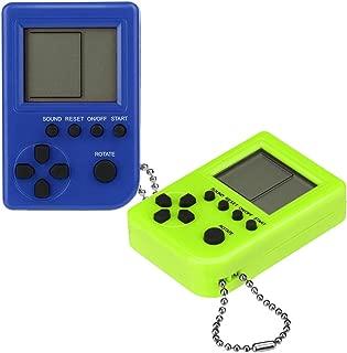 Noir Manyo Classique Console de Jeu Tetris Machine /à Jouets /Électronique pour Enfant