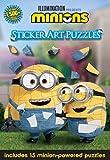 Minions Sticker Art Puzzles