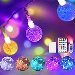 Color Changing Globe Lights on amazon