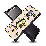 Totoro and Avocado Samsung Galaxy S9 Plus Case, Soft Flexible TPU Back Cover Case Compatible with Samsung Galaxy S9 Plus (Black)