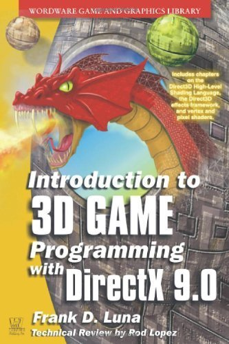 Introduction To 3D Game Programming With Directx 9.0C: A Shader Approach (Wordware Game and Graphics Library) by Frank Luna (2006-06-25)