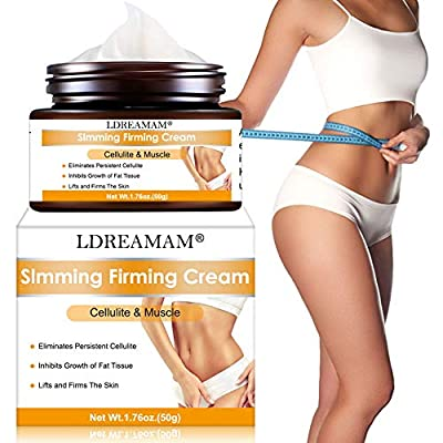 Slimming Cream,Anti Cellulite Cream,Anti Cellulite Massager and Skin Firming Cream,Thighs,Buttocks,Tummy,Warming Natural Cellulite Cream,Firm Your Skin And Reduce The Appearance Of Cellulite