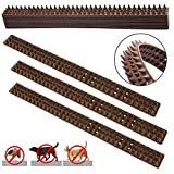 10Pcs Bird Spikes Wild Cat Fence Spikes Squirrel Small Birds Pigeons Repellent Spikes