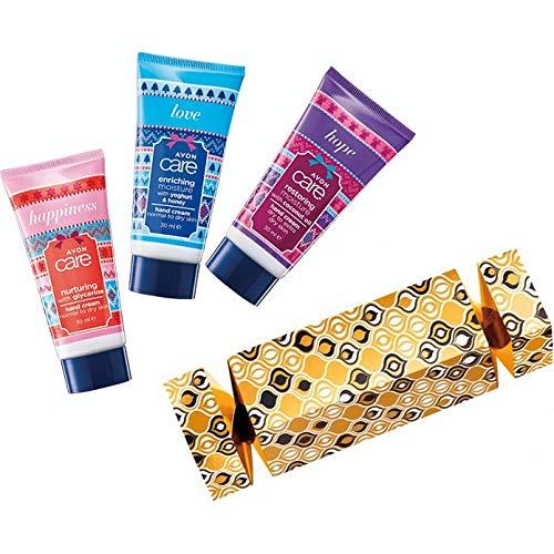 Avon Geschenkset Handcremes 3 Mini Handcreme in schöner Geschenkbox