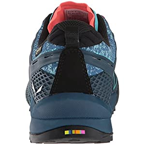 Salewa Women's WS Wildfire GTX Low Rise Hiking Shoes, Poseidon/Capri, 7.5