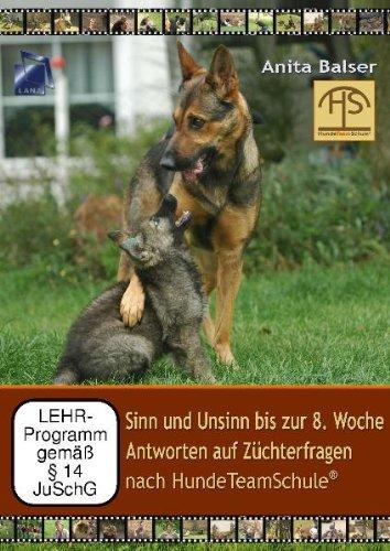 Sinn und Unsinn bis zur 8. Woche - Antworten auf Züchterfragen nach HundeTeamSchule *Doppel-DVD*