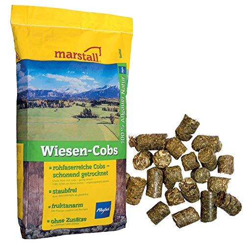 marstall Premium-Pferdefutter Wiesen-Cobs, 1er Pack (1 x 25 kilograms)