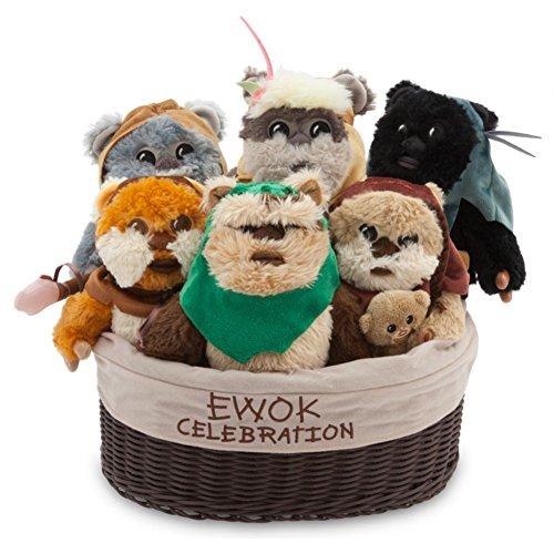 Disney Star Wars Ewok Celebration Limited Edition Plush Set - Small - 9