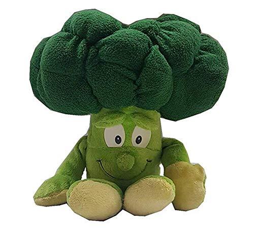 1 Stück Früchte Gemüse Weich Plüschtier Baby Jungen Mädchen Stofftiere Schlaf Komfort Spielzeug für Baby Kinder Lernen Geschichte Spielzeug Puppen (Brokkoli, 30cm)