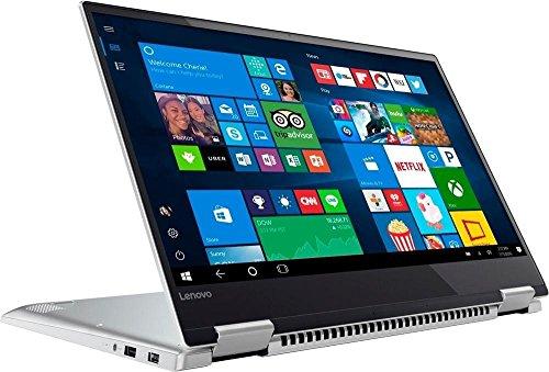 2018 Lenovo Yoga 720 2 in 1 15.6' 4K UHD IPS Touchscreen Ultrabook Laptop Computer, Intel Quad-Core i7-7700HQ up to 3.8GHz, 16GB DDR4, 512GB SSD, GTX 1050, Fingerprint Reader, Backlit KB, Windows 10