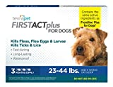 TevraPet FirstAct Plus Flea & Tick Prevention for Dogs – Topical, 23-44 Lbs