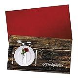 50 hochwertige Gutscheinkarten + 50 Kuverts. Gutscheine für Restaurant Gasthaus Gastronomie Gasthof Hotel. Vorderseite hochglänzend. G12014