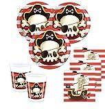 36 Teile Piraten Jolly Roger Totenkopf Party Deko Set 8 Kinder