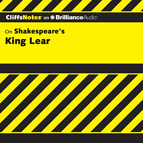 King Lear: CliffsNotes audiobook cover art