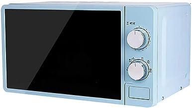 Luffa elves Horno De Microondas Multifuncional PequeñO De 20l 220v Calentador De Alimentos Giratorio MecáNico Cocina para Cocinar Al Vapor/Calentar/Hervir