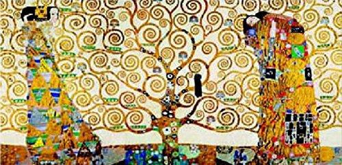 1art1 35340 Gustav Klimt - Das Stoclet Fries Poster Kunstdruck 100 x 50 cm