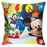 JONINOT 2PCS Mick-EY Mouse y Donald Duck Funda de Almohada Sofá Asiento Funda...