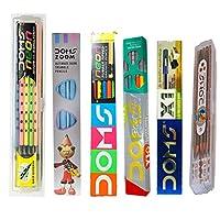 Doms X1 Pencil + Y1 Plus Pencil + Neon Rubber Tipped Pencil + Zoom Pencil + Groove Slim Triangle Pencil + Groove Slim Triangle Pencil