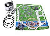 Mover Parts Piston & Gaskets & Bearing For Yanmar Engine & Generator L100 186FA 10HP
