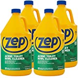 Zep Acidic Toilet Bowl Cleaner 128oz R43710 (Case of 4) - 2x thicker than before! Professi...