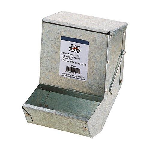 Miller Manufacturing AF5ML Metal Rabbit Feeder, 5-Inch