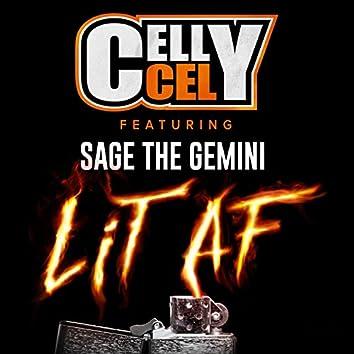 Lit AF (feat. Sage The Gemini)
