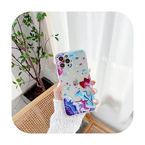 Moda acuarela pintura teléfono caso para Samsung Galaxy S20 S10 S21 Plus Uitra S20 FE S9 cubierta transparente a prueba de golpes Coque Funda-SHANG XIA-Samsung S21 S30