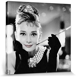 1art1 Audrey Hepburn - Desayuno con Diamantes B/N Cuadro,