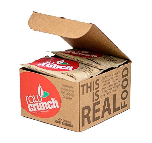 Raw Crunch Bars - Organic Goji Berry - Box 12 Bars