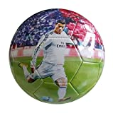 iSport Gifts Cristiano Ronaldo #7 Madrid Kids Soccer Ball  Size 5 for Kids & Adult  Premium Gift Youth Soccer Ball  Unique Design  Durable Soft Construction (Size 5, Ronaldo #7)