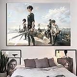 KWzEQ Imprimir en Lienzo Personaje de Dibujos Animados para Sala de Estar Cuadros Decorativos y Carteles Arte de pared60x90cmPintura sin Marco