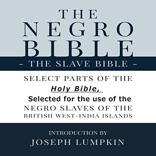 The Negro Bible: The Slave Bible cover art