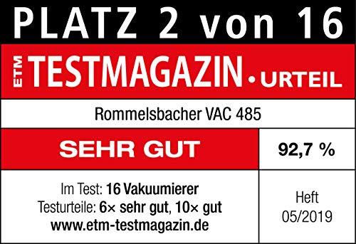Rommelsbacher Vakuumiergerät VAC 485 - 9