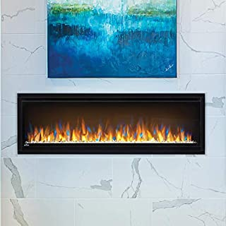 Napoleon Alluravision Recessed Wall Mounted Electric Fireplace